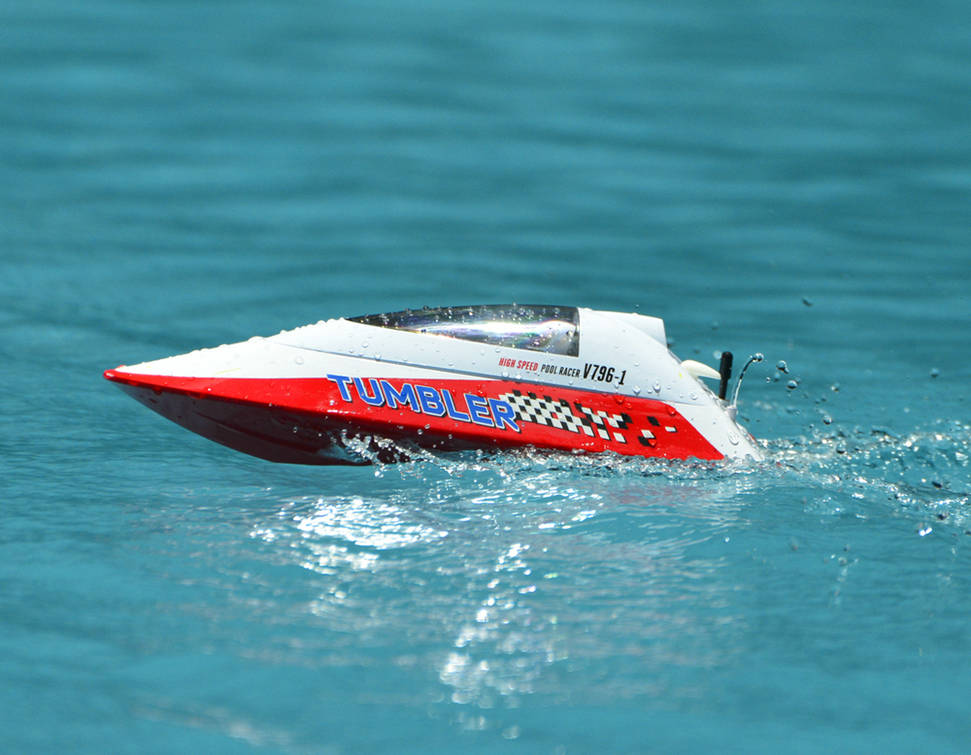 Volantexrc Tumbler Auto Roll Back Pool Racer Rc Boat 796 1 Ready To Run General Hobby