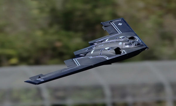 LX B2 Stealth Bomber Dual 64mm EDF Jet With Retracts Kit Version