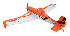 Dynam Cessna 188 Crop Duster 59''/1500mm Electric RC Plane Orange Ready-To-Fly