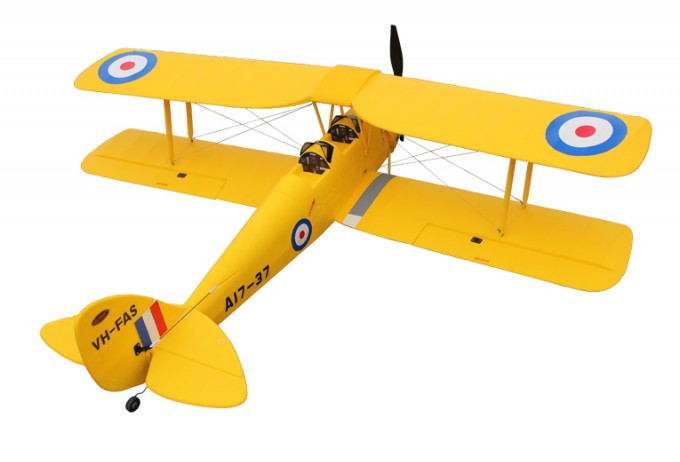 Dynam Tiger Moth 1270mm EPO Electric RC Plane ARF