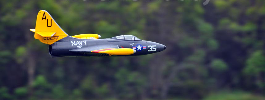 Freewing F9f Panther 64mm Rc Edf Jet Ready To Fly As
