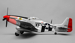 P-51 Mustang 1150mm EPO RC Plane Ready-To-Fly