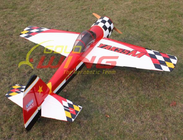 Goldwing Arf Yak 55m 50e 57 Electric Nitro Aerobatic 3d
